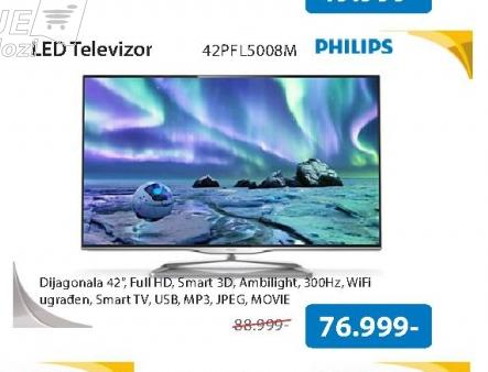 Televizor LED 42PFL5008M/08