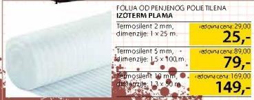 Folija Izoterm Plama 2mm