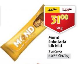 Čokoladica kikiriki