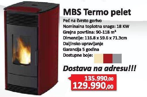 Peć Mbs Termo Pelet