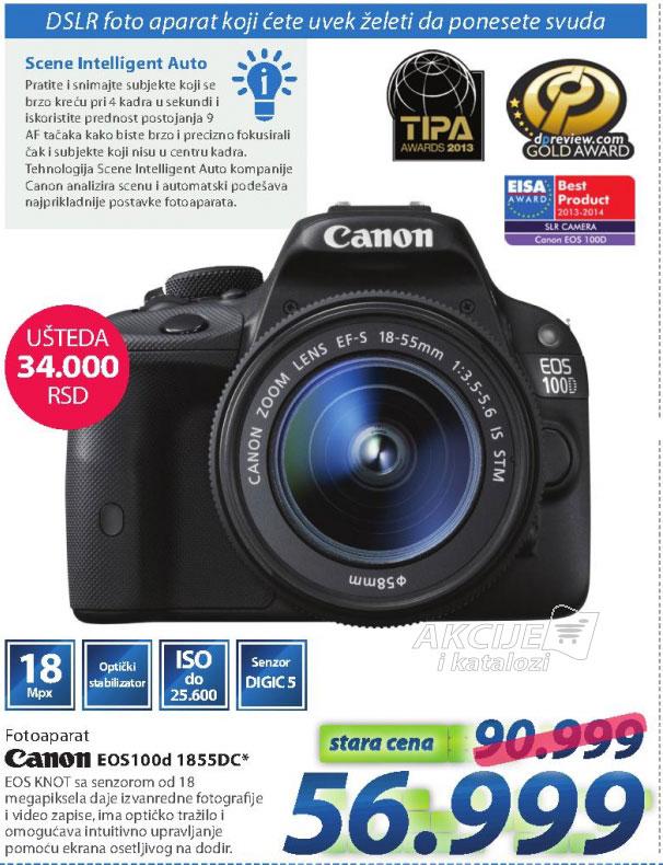 Fotoaparat DSLR EOS100D