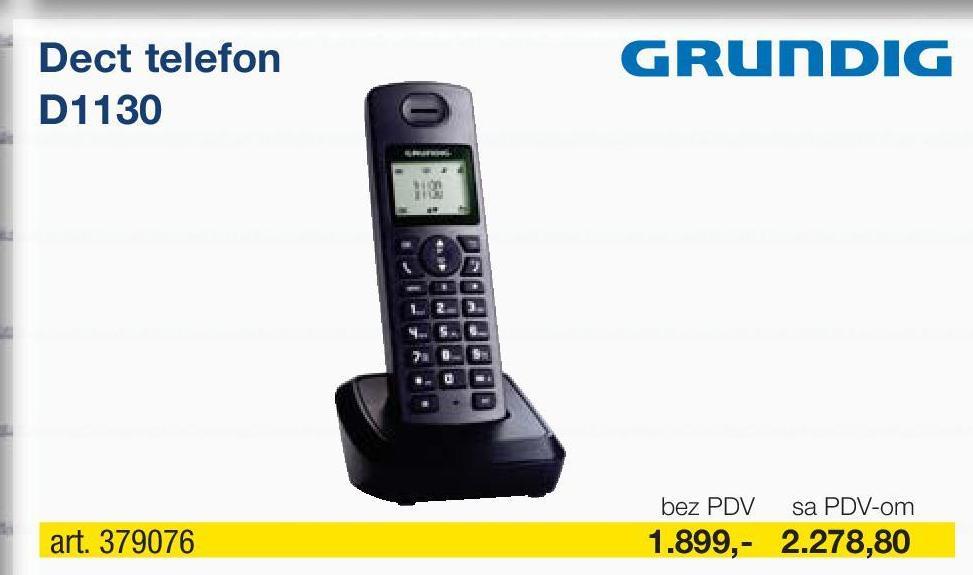 Bežični telefon D1130