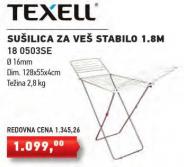 Sušilica za veš Stabilo 180503S, Texell