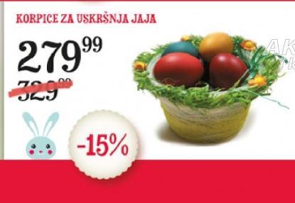 Korpica za Uskršnja jaja