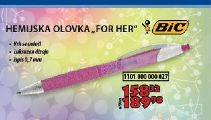 Hemijska olovka ''For her''