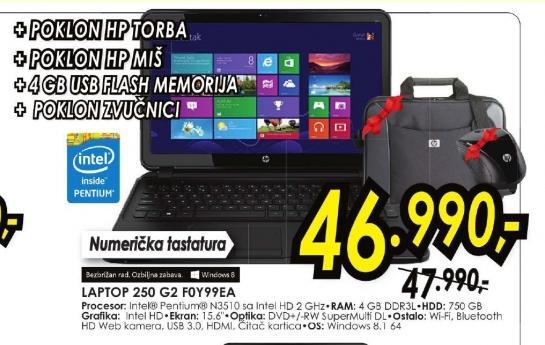 Laptop 250 F0Y99EA