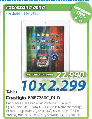 Tablet PMP7280C_DUO
