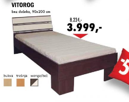 Krevet Vitorog 90x200 cm