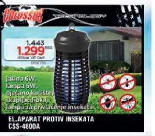 Električni aparat protiv insekata CSS-4800A