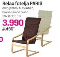 Relax fotelja PARIS