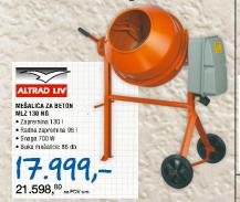 Mešalica za beton MLZ 130 NG