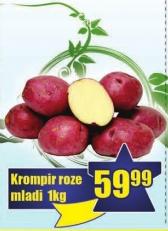 Krompir crveni mladi