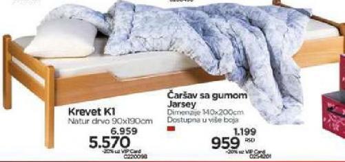 Krevet K1