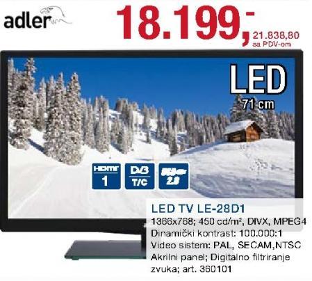 """Televizor LED 28"""" Le-28d1"""