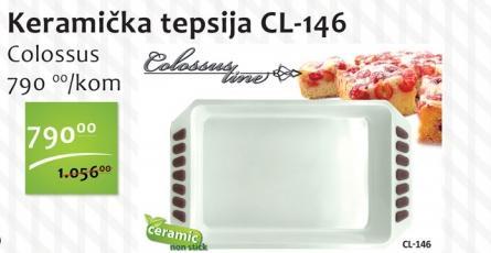 Tepsija keramička CL-146