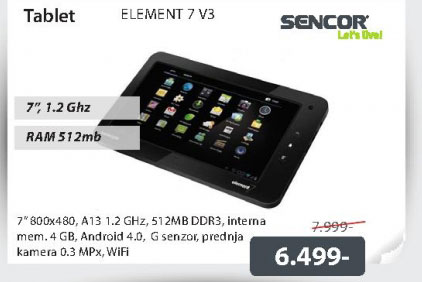 Tablet ELEMENT 7 V3