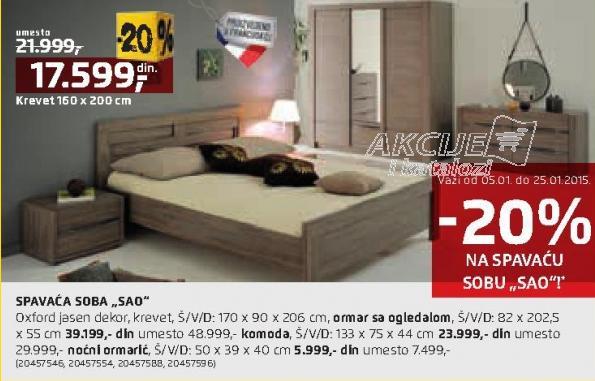 Spavaća soba Sao