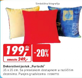 "Dekorativni jastuk   ""Furtschi"""