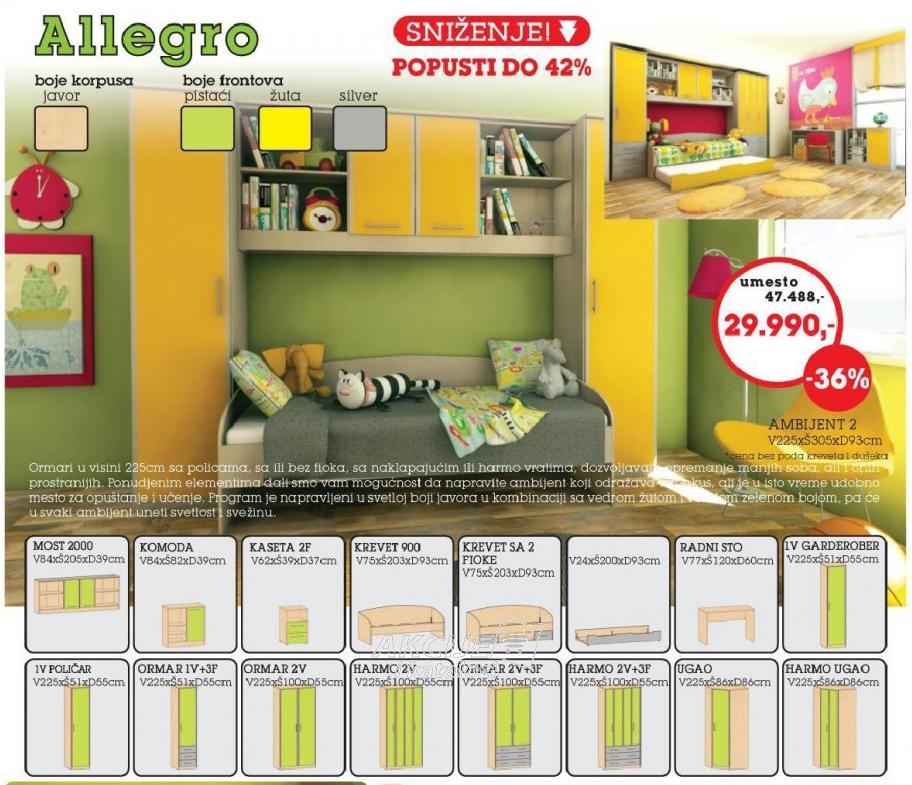 Dečija soba Allegro