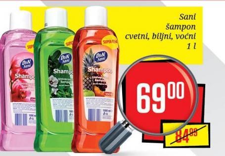 Šampon za kosu voćni