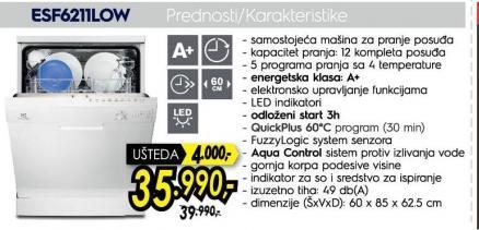 Sudomašina Esf 6211LOW