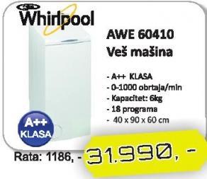 Mašina Za Veš AWE 60410