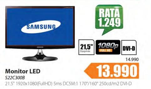 "LED Monitor 21.5"" S22C300B"