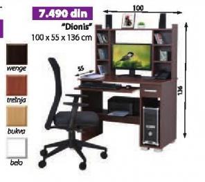 Kompjuterski sto Dionis