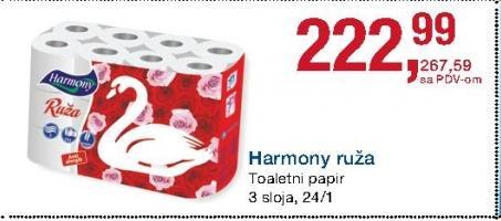 Toalet papir 3sl ruža