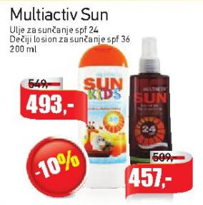 Sun Kids Dečiji losion za sunčanje ŽSPF 36