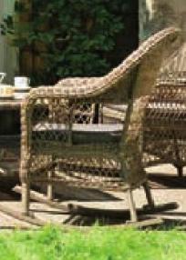 Baštenska fotelja Romantik
