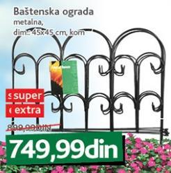 Baštenska ograda