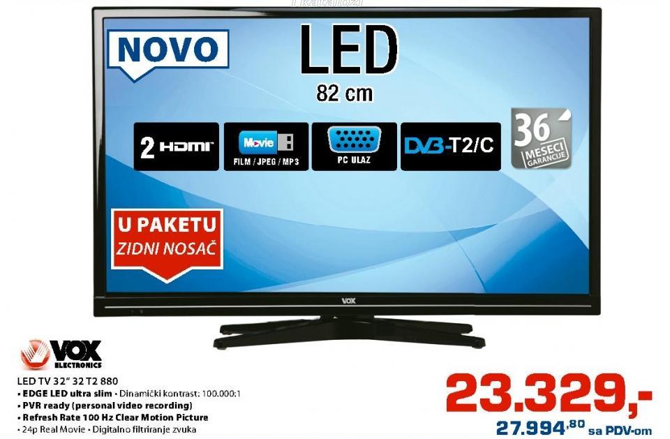 """Televizor LED 32"""" 32t2880"""