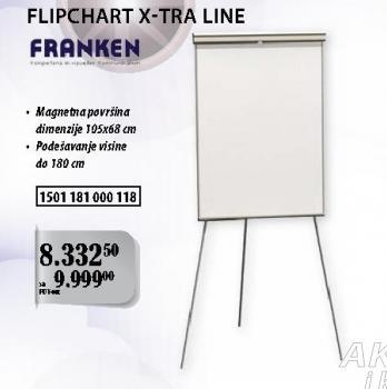 Flipchart X-tra Line Franken