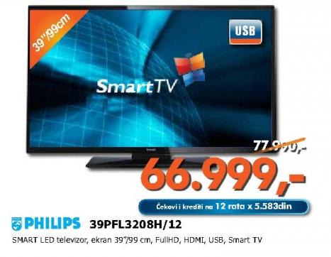 LED televizor 39PFL3208H/12