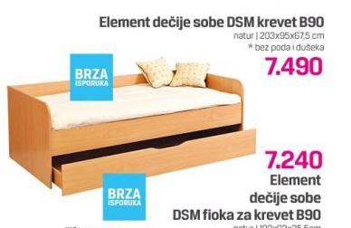 Fioka za Krevet B90