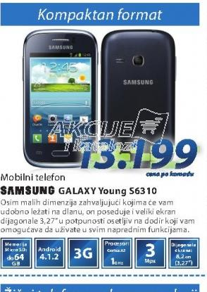 MOBILNI TELEFON S6310 GALAXY YOUNG W