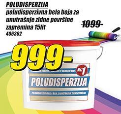 Poludisperzija 15l
