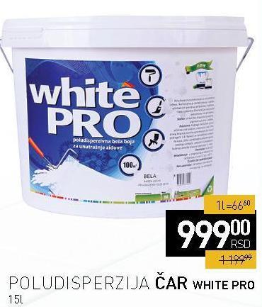 Poludisperzija White Pro