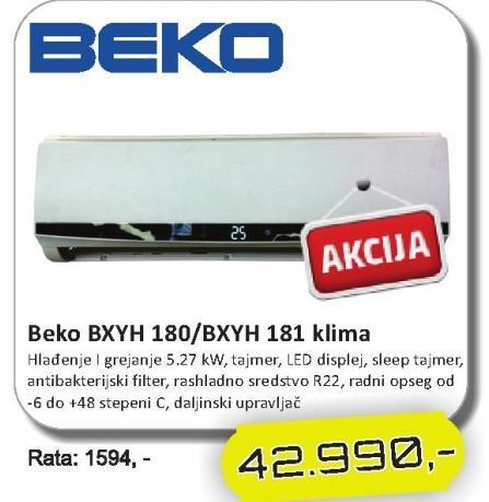 Klima BXYH 180/BXYH 181