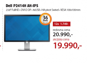 Monitor LED P2414H  AH-IPS