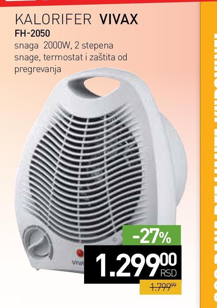 Grejalica FH-2050