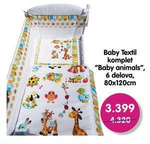Baby posteljina Baby animals