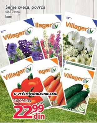 Seme cveća i povrća