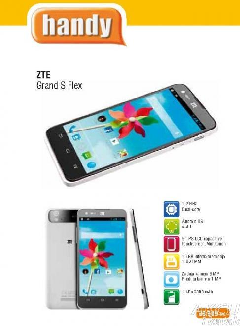 Mobilni Telefon ZTE Grand S Flex