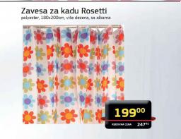 Zavesa za kadu Rosetti