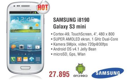Mobilni Telefon i8190 S3 Mini
