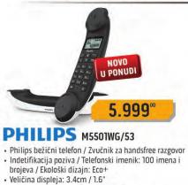 Bežičnitelefon M5501WG/53