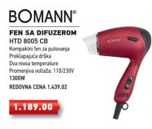 Fen Bomann Htd 8005 Cb