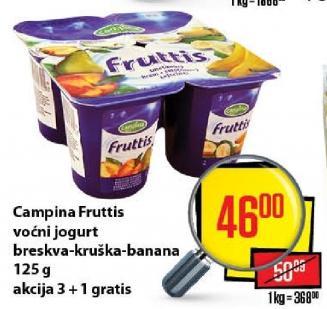 Voćni jogurt banana